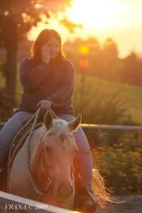 Den na ranči